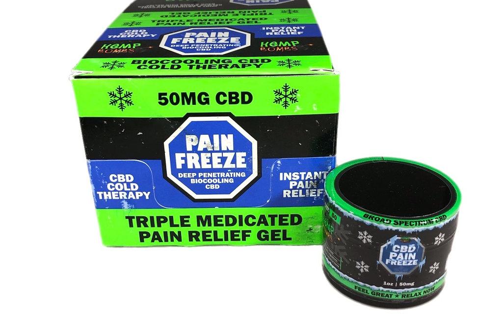 (Case of 12) CBD Pain rub 1oz 50mg