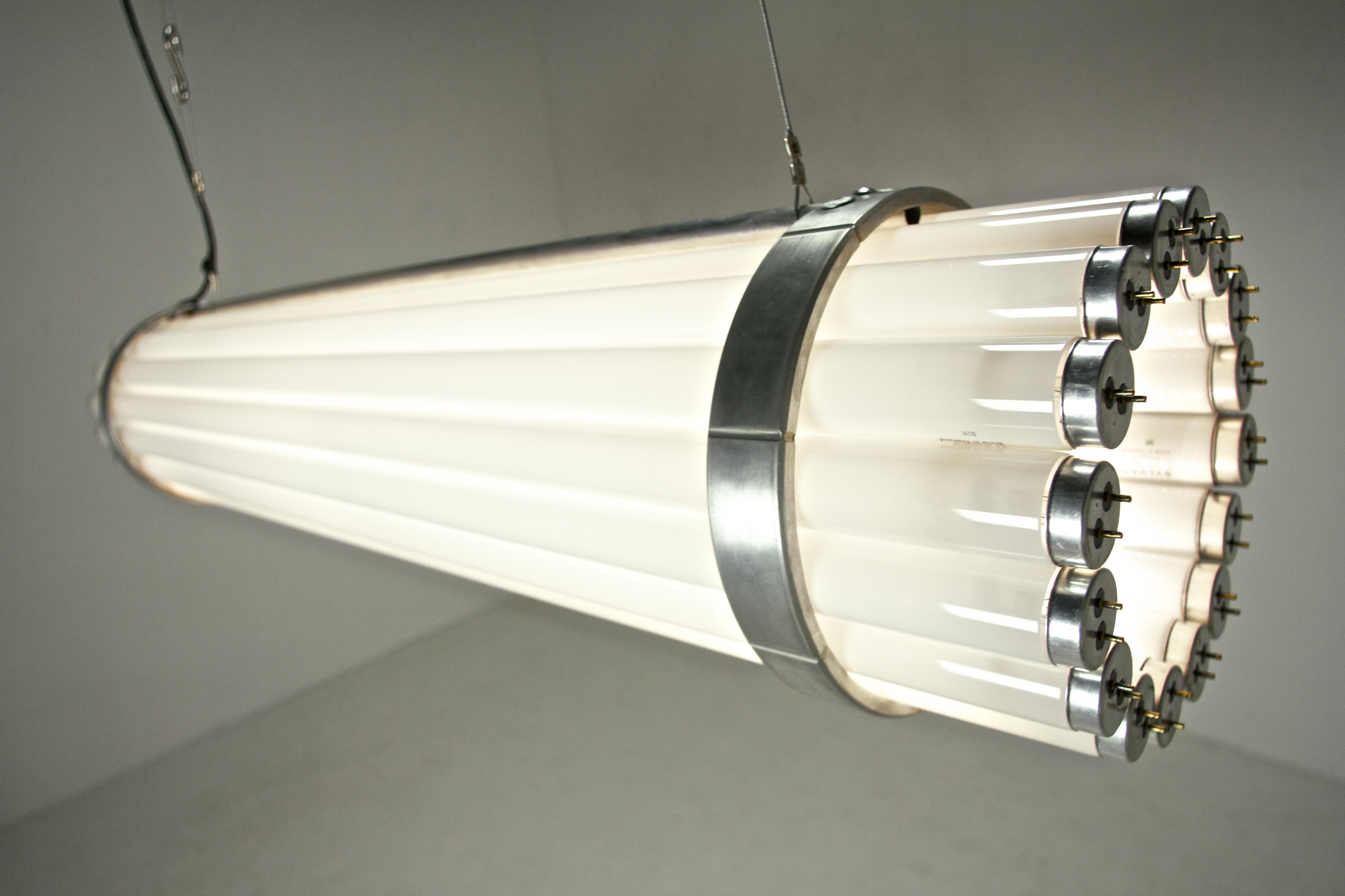 Fluro Pendant/Floor Lamp
