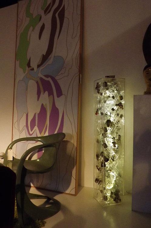 Light Box Floor Lamp