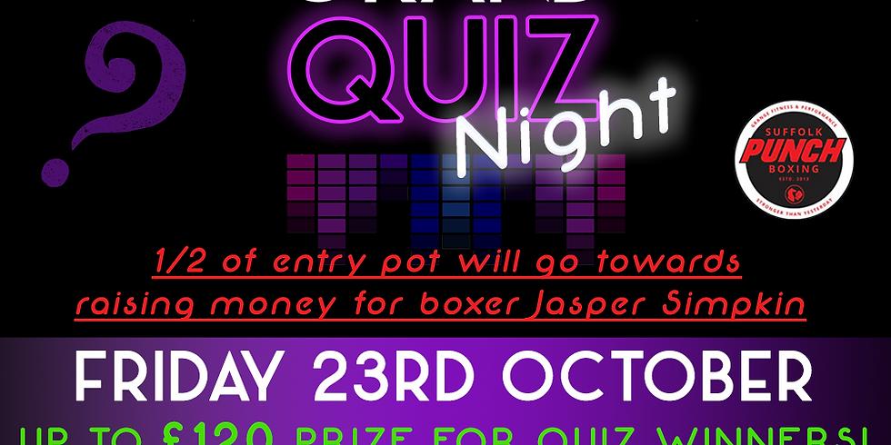 Quiz Night! - CASH PRIZE + Fundraiser