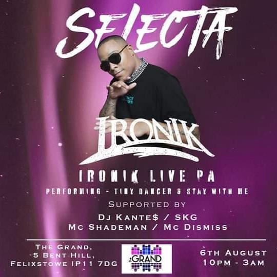 Selecta - Ironik Live PA