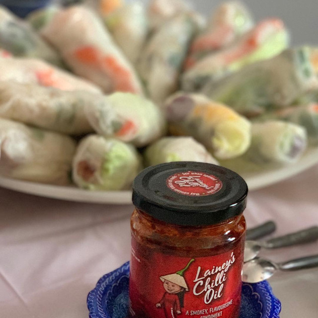Rice Paper Rolls - Lainey's Chilli Oil