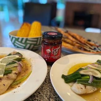 Fish Dish - Lainey's Chilli Oil