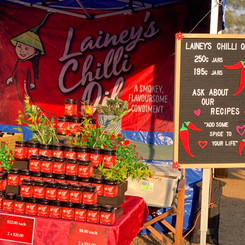 Lainey's Foods Market Stall