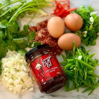 Cut Up Vegetables - Lainey's Chilli Oil