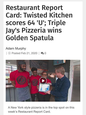 Triple Jay's Pizzeria wins Golden Spatula