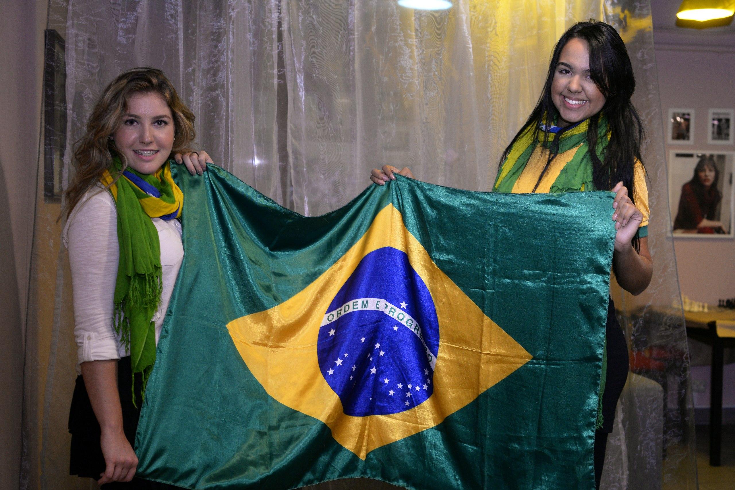 Привет из Бразилии