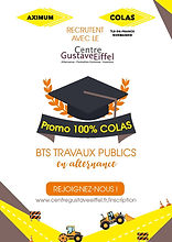 Promo BTS TP Colas - Centre Gustave Eiff
