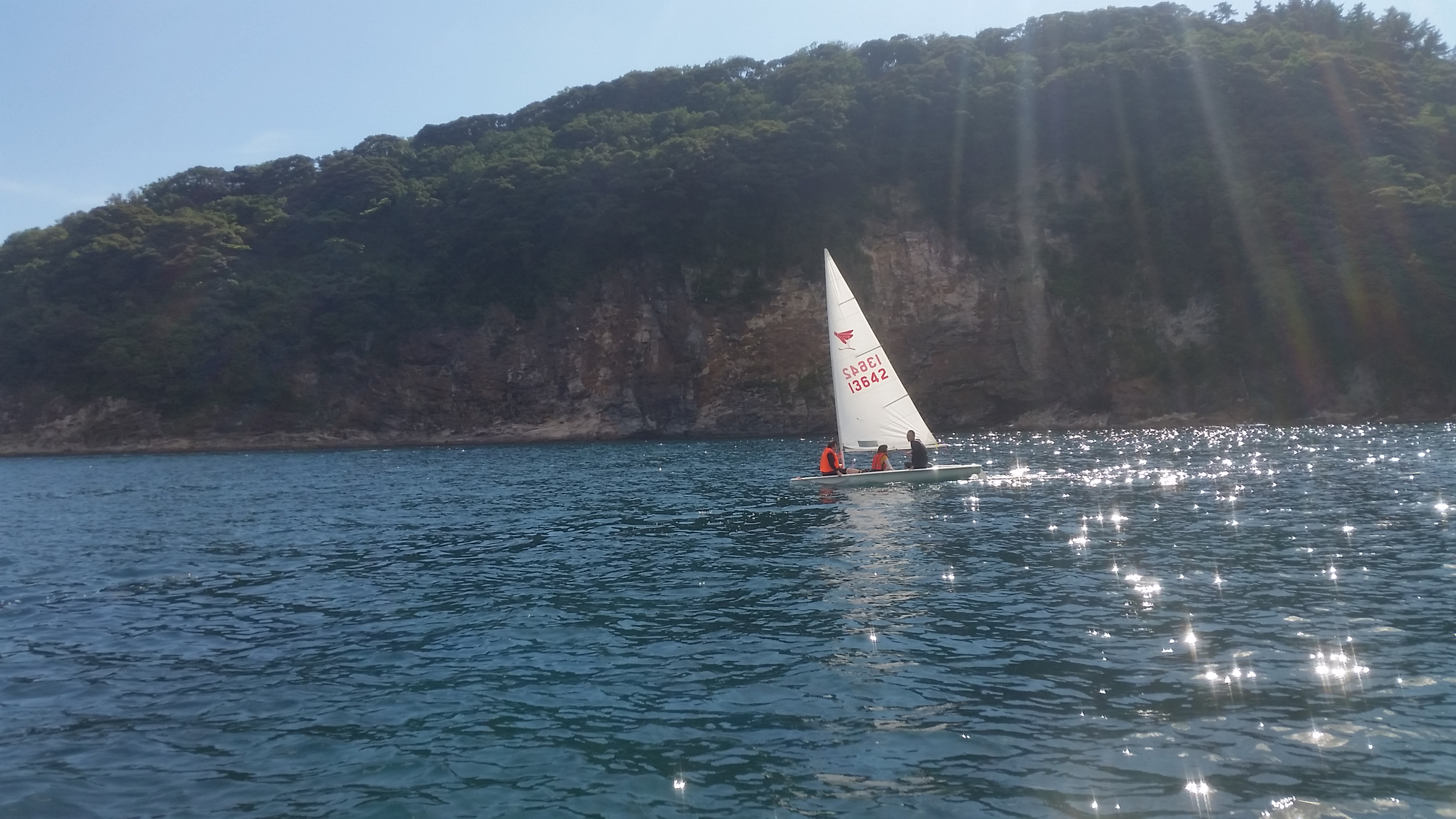 ヨット体験