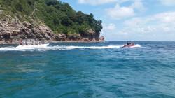 バナナボート体験