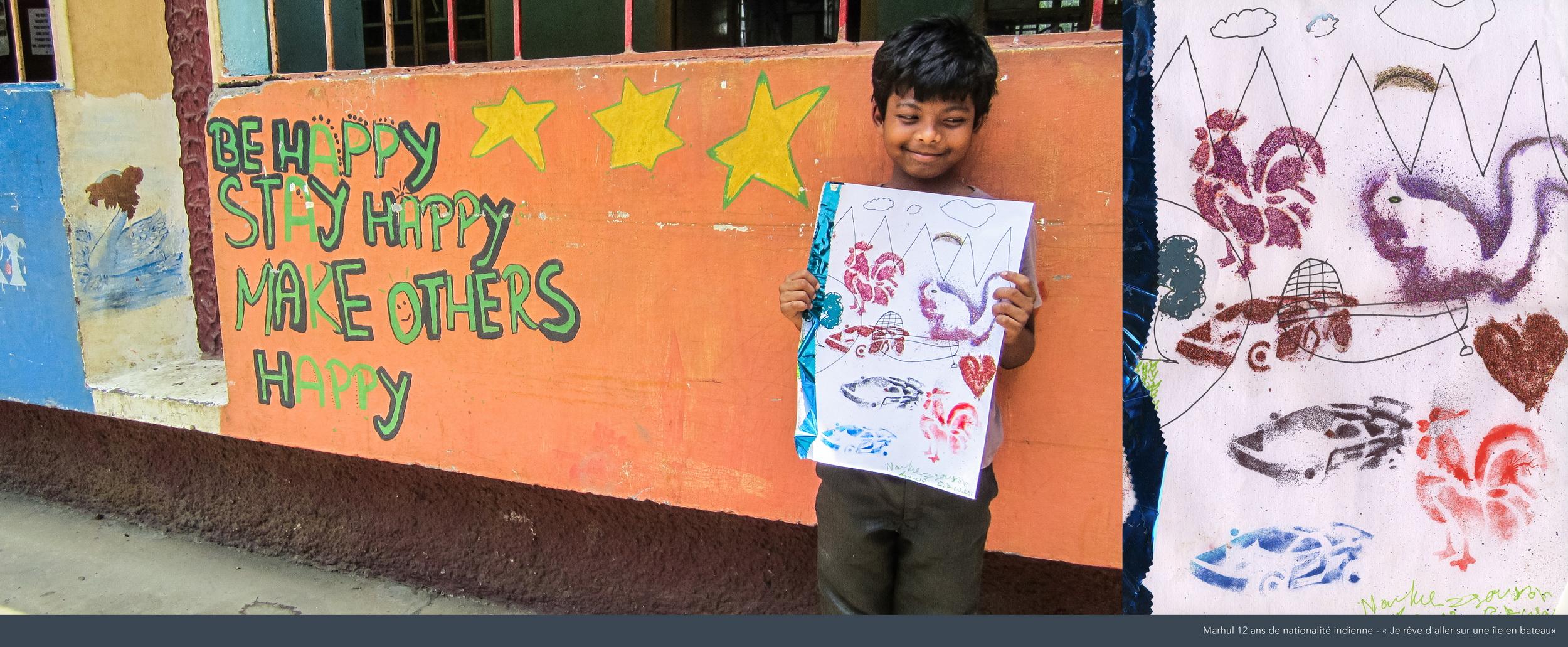 Marhul, 12 ans, Inde.