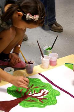 """Ateliers """"fresques narratives partagées"""" (2013)"""