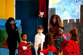 Ateliers théâtre - préparation de la pièce (2013)