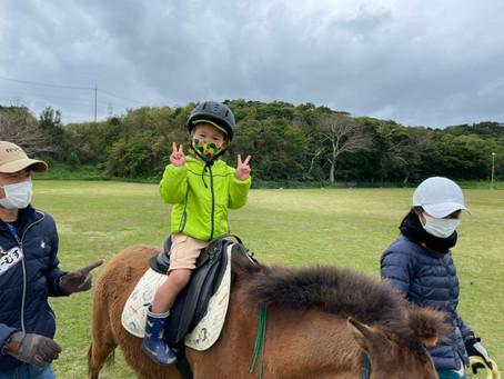 2月17日(水)乗馬体験🐎