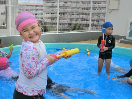 9月29日(火)今年度最後の水遊び(*^-^*)