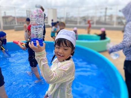 7月27日(火) 水遊びサイコー♪
