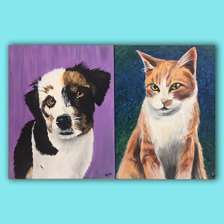 Paint Your Pet - Any Pet! Linda Yang Party