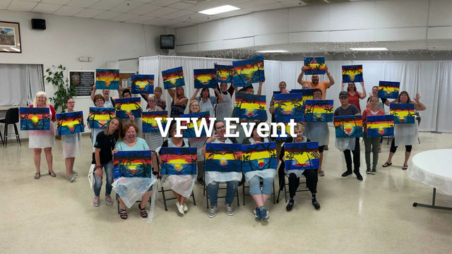 VFW Event! We love fundraisers!