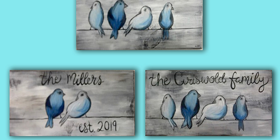Personalized Sign - Pick your color - wood 24x7