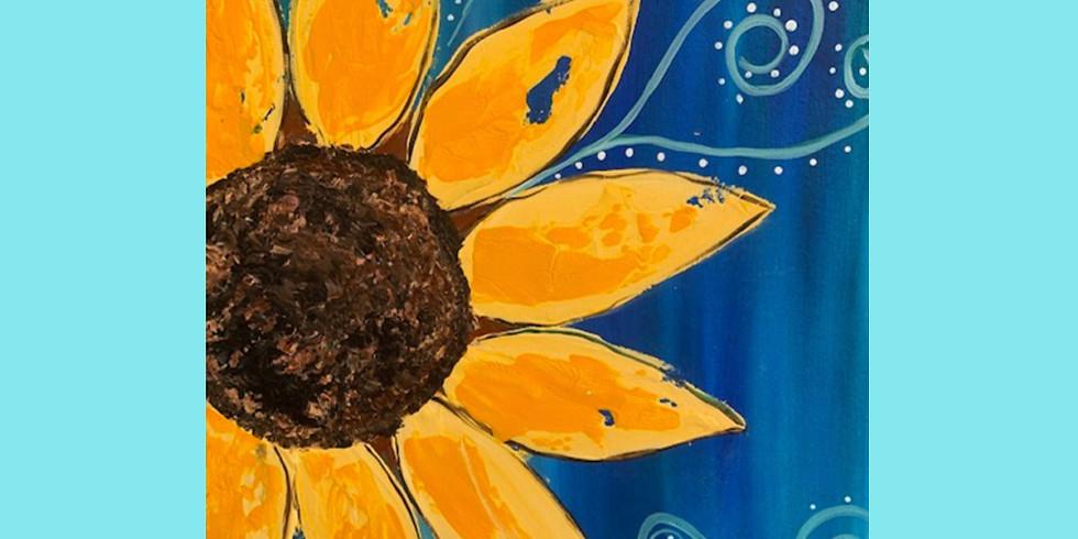 Sunflower Texture Medium