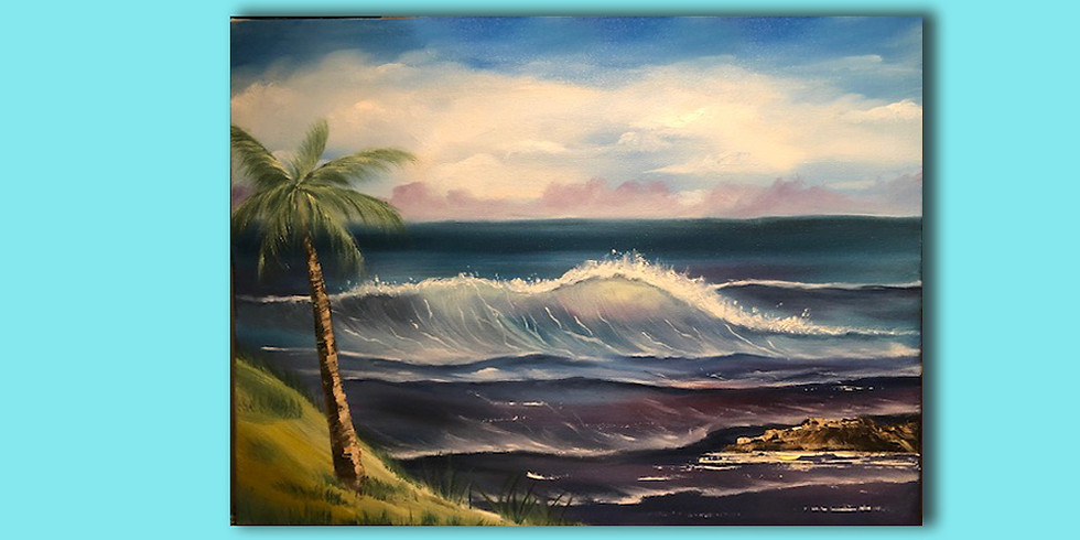 Ocean Oil Scenery - 3 to 4 hour class