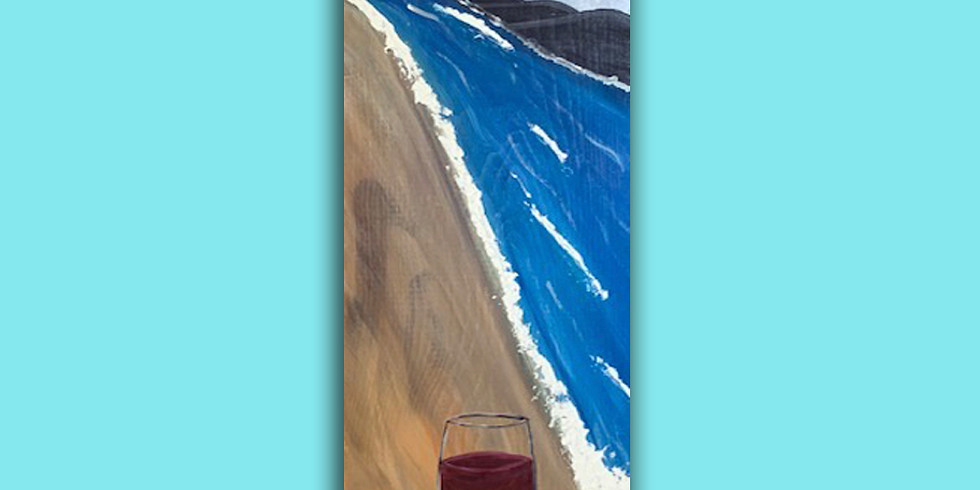 Endless Beach - Wood plank