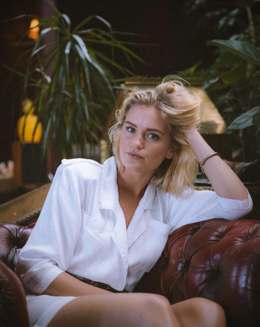 Alicia Agneson for Elle