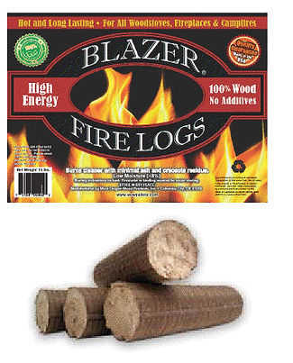 Blazer Fire Logs