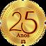 Selo Comemorativo 25 Anos