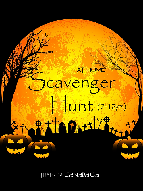 Halloween Scavenger Hunt (7-12yrs)
