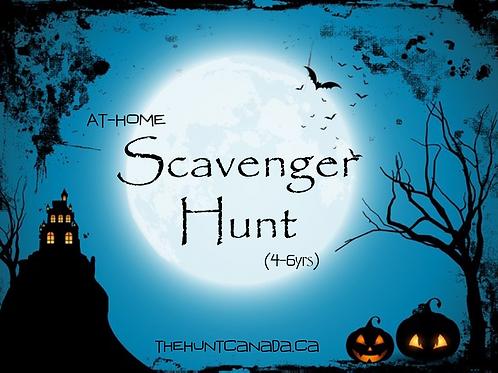 Halloween Scavenger Hunt (4-6yrs)