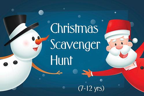 Christmas Scavenger Hunt (7-12yrs)
