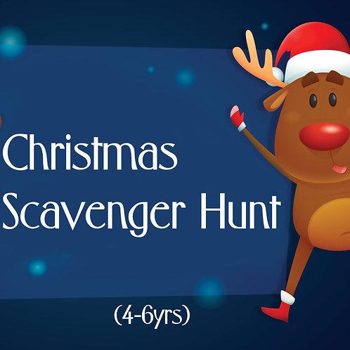 Christmas Scavenger Hunt (4-6yrs)