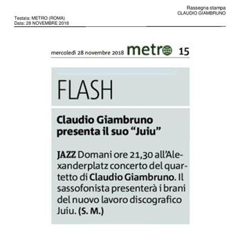 20181128_Metro (Roma)_Claudio Giambruno-
