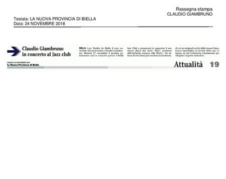20181124_La Nuova Provincia Di Biella_Cl