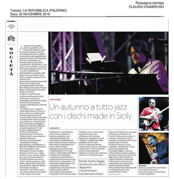 20181122_La Repubblica (Palermo)_Claudio