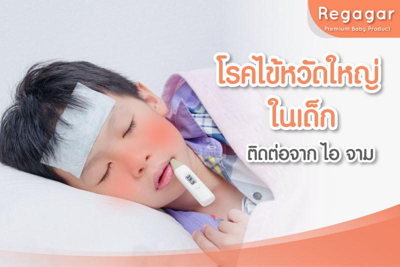 โรคติดต่อหน้าฝนในเด็ก - โรคไข้หวัดใหญ่