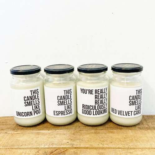 The Prospect Project Candles
