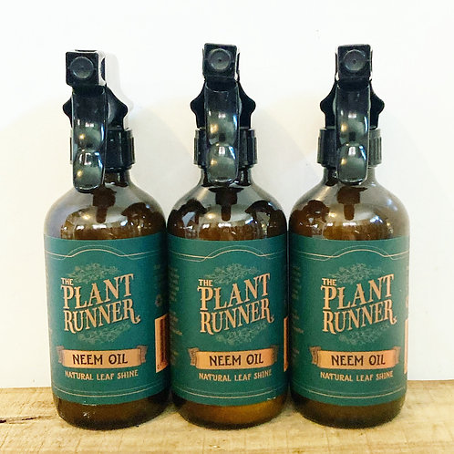 The Plant Runner - Neem Oil + Leaf Shine