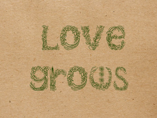 Love really does grow