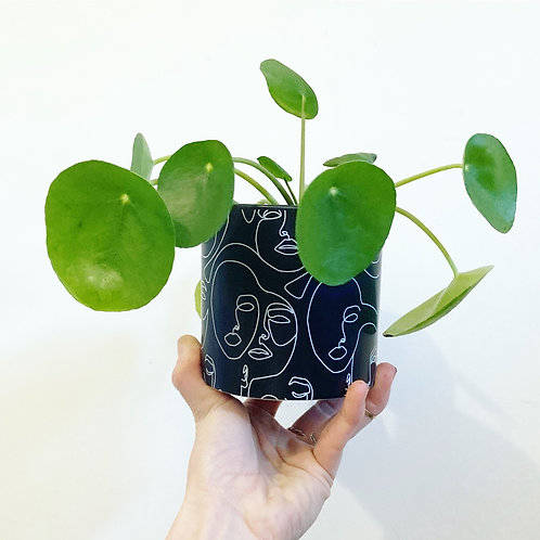 Picasso Abstract Ceramic Planter