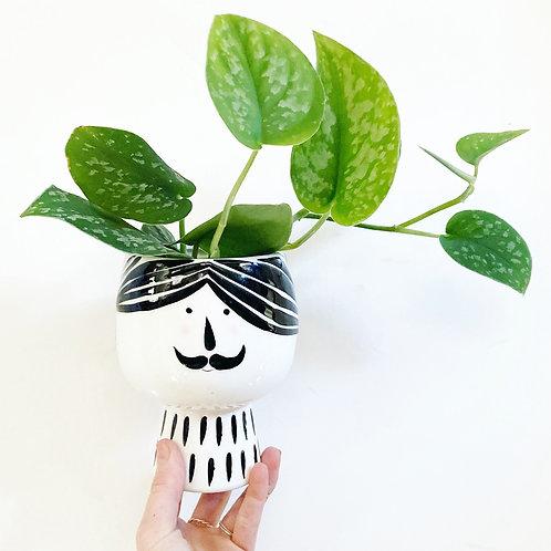 Guy Ceramic Planter