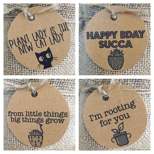 Complimentary Punny Gift Tag