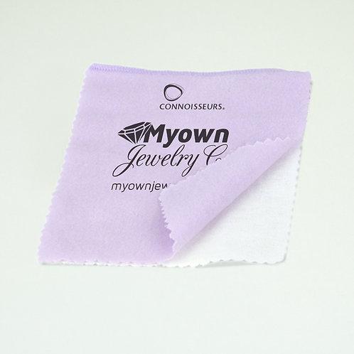 #23 Violet/White Jewelry Polishing Cloth 5x6 (min 144 pcs.)