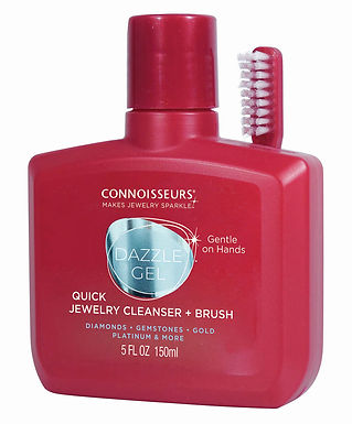 #1032 Dazzle Gel (Quick Jewelry Cleanser) with Brush 5 oz. 6 Pack
