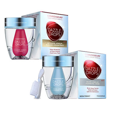 Dazzle Drops Advanced  and Silver Jewelry Cleaning Kit