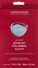 "#1013 Silver Polishing Cloth 11""x14"" -12 pack"