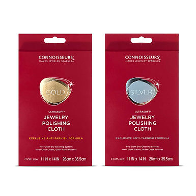 Gold & Silver Jewelry Polishing Cloth Kit