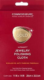 """#1012 Gold Polishing Cloth 11""""x14""""-12 Pack"""