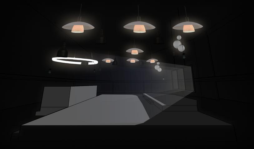 2025 light concept, light through window